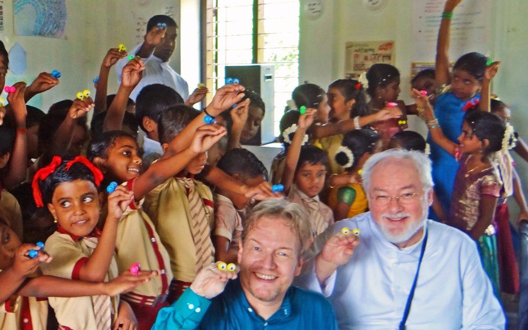 Bauchrednerkurs in Indien